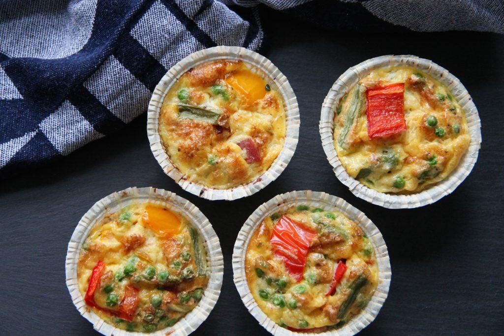Muffins af æg - perfekt til madpakken - byDuhn